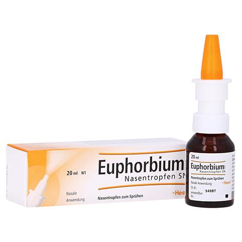 EUPHORBIUM COMPOSITUM Nasentr.SN Nasendosierspray 20 Milliliter N1