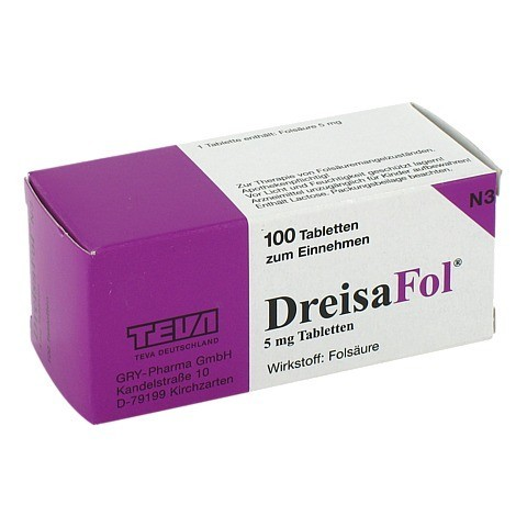 DREISAFOL Tabletten 100 Stück N3