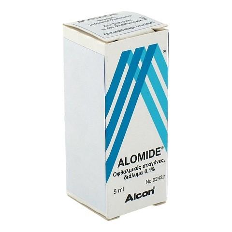 ALOMIDE Augentropfen 5 Milliliter N1