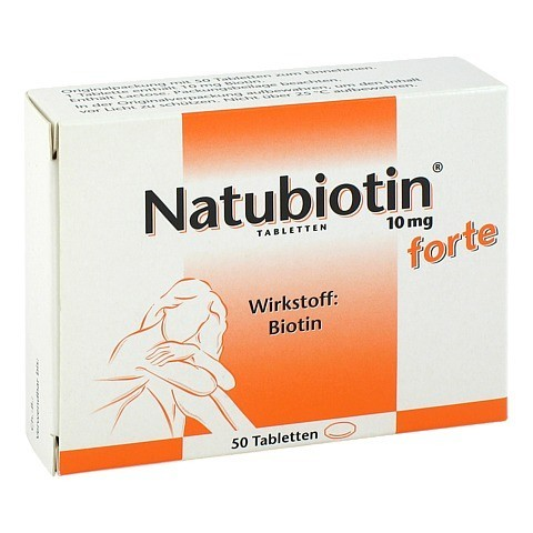 NATUBIOTIN 10 mg forte Tabletten 50 Stück