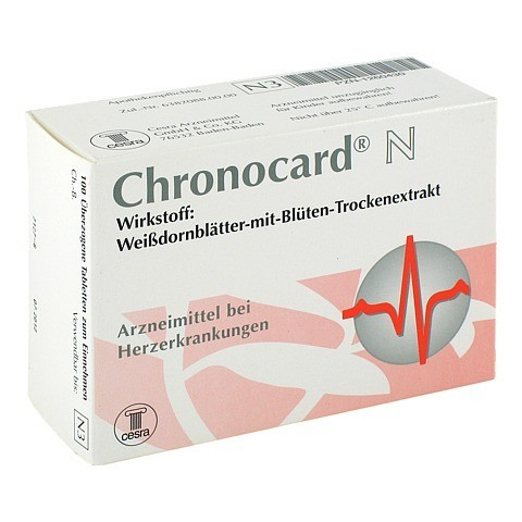 Chronocard N 100 Stück N3