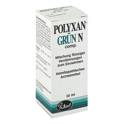 POLYXAN grün N comp. Tropfen 30 Milliliter