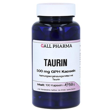 L-TAURIN 500 mg Kapseln 100 Stück