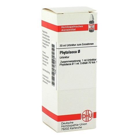 PHYTOLACCA Urtinktur 20 Milliliter N1