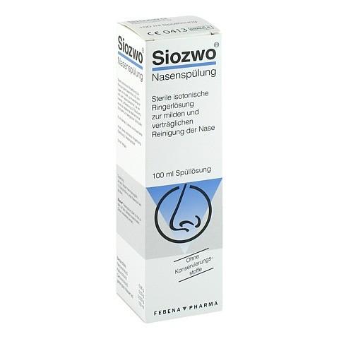SIOZWO Nasenspülung Konservierungsstofffrei 100 Milliliter