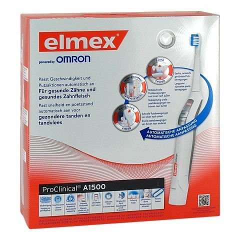 ELMEX ProClinical A1500 elektrische Zahnbürste 1 Stück