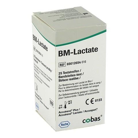 BM TEST Lactate Teststreifen 25 Stück