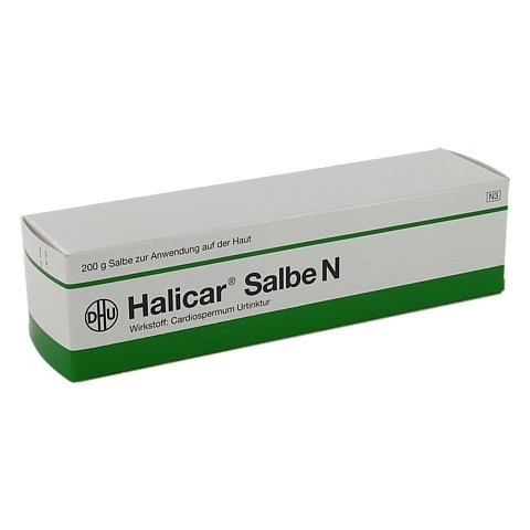 HALICAR Salbe N 200 Gramm N3