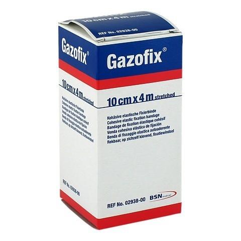 GAZOFIX Fixierbinde 10 cmx4 m hautf. 1 Stück