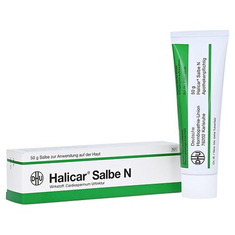 HALICAR Salbe N 50 Gramm N1