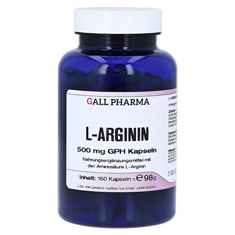 L-ARGININ 500 mg GPH Kapseln 160 Stück