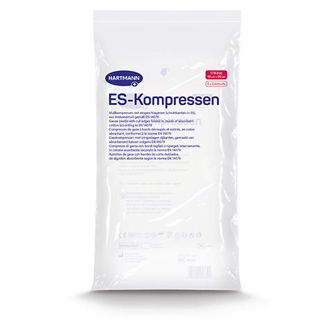 ES-KOMPRESSEN steril 10x20 cm 8fach 5x2 Stück