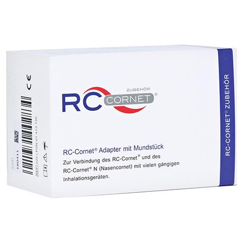 RC Cornet Adapter m.Mundstück f.Inhaliergeräte 1 Stück