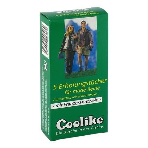 COOLIKE Erholungstuch.f.müde Beine m.FBW 5 Stück