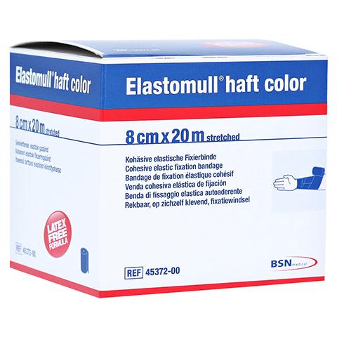ELASTOMULL haft color 8 cmx20 m Fixierb.blau 1 Stück
