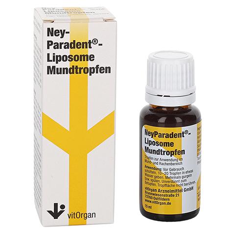 NEYPARADENT Liposome Mundtropfen 15 Milliliter