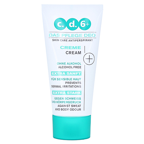 CD6+Pflegedeo Creme 50 Milliliter