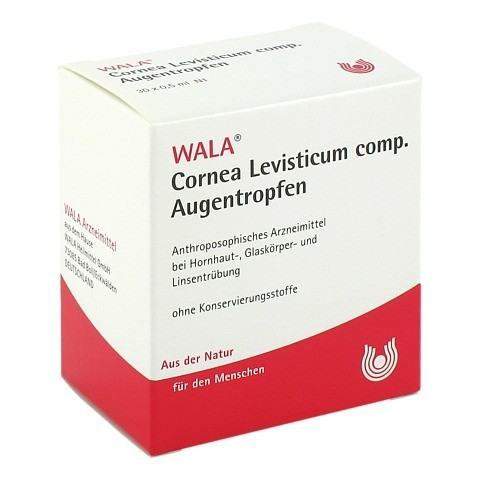 CORNEA Levisticum comp.Augentropfen 30x0.5 Milliliter N1