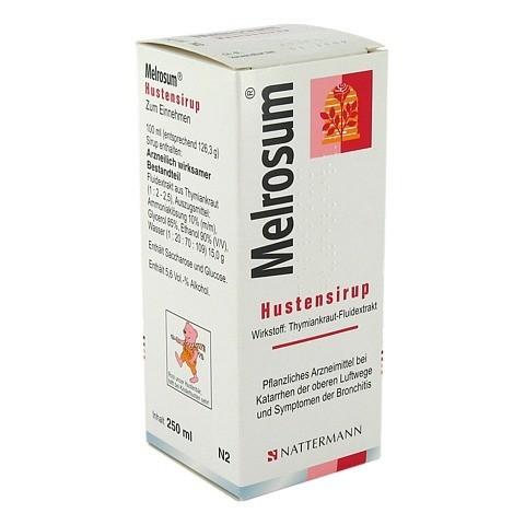 Melrosum Hustensirup 250 Milliliter N1