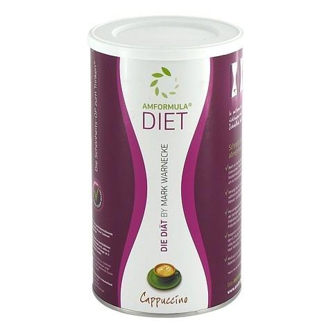 AMFORMULA Diet Cappuccino Pulver 490 Gramm