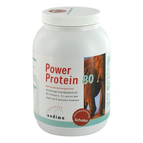 Power Protein 80 Schoko Pulver 900 Gramm