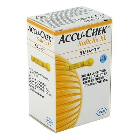 ACCU CHEK Softclix Lancet XL 50 Stück