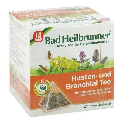 BAD HEILBRUNNER Tee Husten und Bronchial Fbtl. 15 Stück