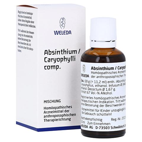 ABSINTHIUM/CARYOPHYLLI comp.Dilution 50 Milliliter N1