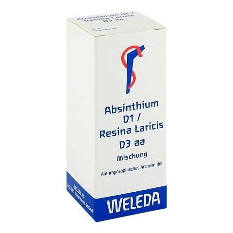 ABSINTHIUM D 1 Resina Laricis D 3 aa Dilution 50 Milliliter N1