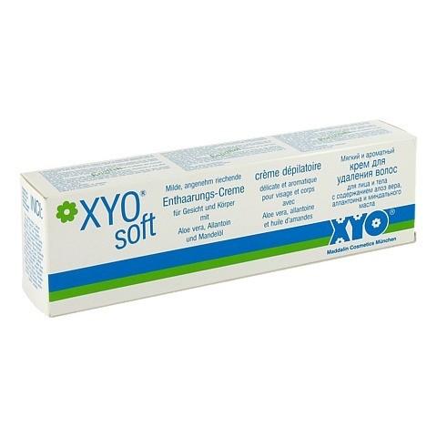 XYO SOFT Enthaarungscreme Tube 125 Milliliter