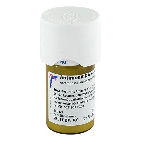 ANTIMONIT D 6 Trituration 20 Gramm N1