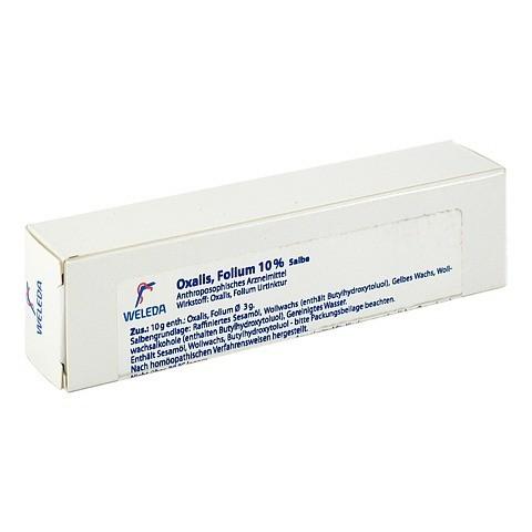 OXALIS FOLIUM 10% Salbe 25 Gramm N1