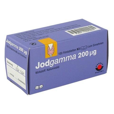 Jodgamma 200µg 100 Stück N3