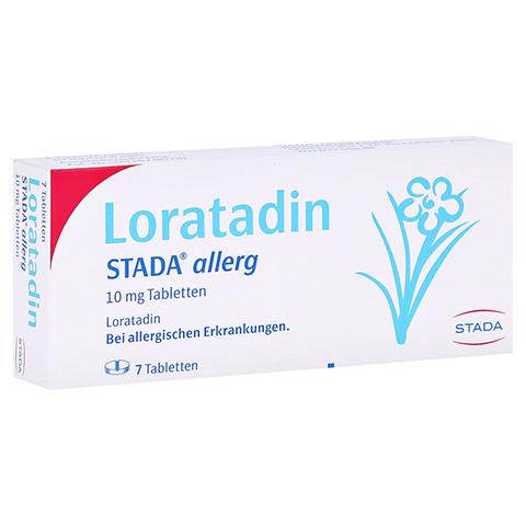 Loratadin STADA allerg 10mg 7 Stück