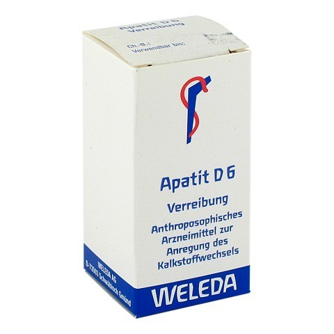 APATIT D 6 Trituration 20 Gramm N1