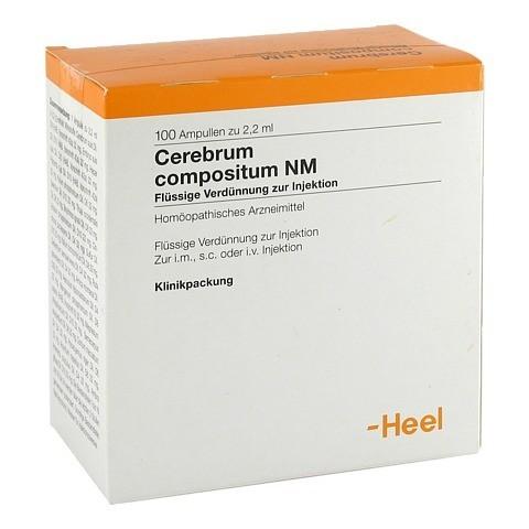 CEREBRUM COMPOSITUM NM Ampullen 100 Stück N3