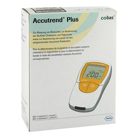 ACCUTREND Plus mg/dl 1 Stück