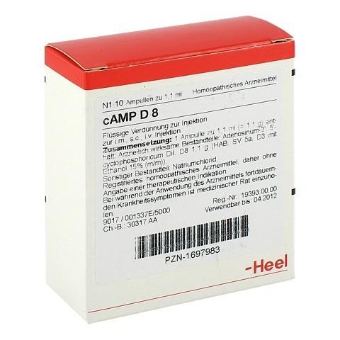 CAMP D 8 Ampullen 10 Stück N1