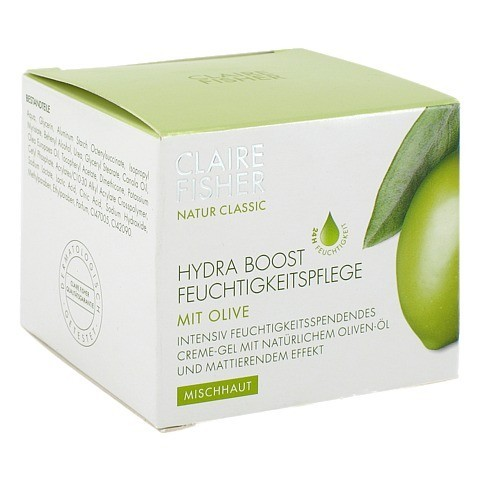 CLAIRE FISHER Nat.Classic Olive Hydra Boost Creme 50 Milliliter