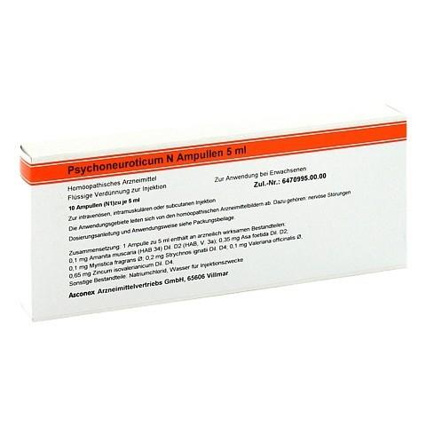 PSYCHONEUROTICUM N Ampullen 10x5 Milliliter N1