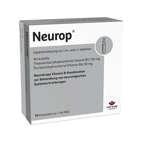 NEUROP Injektionslösung Ampullen 10x1 Milliliter N2