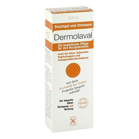 DERMOLAVAL Duschgel+Shampoo f.d.Hautpatienten 200 Milliliter