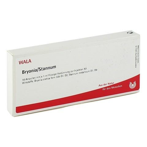 BRYONIA STANNUM Ampullen 10x1 Milliliter N1