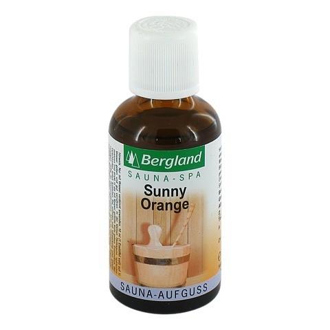 SAUNA AUFGUSS Konzentrat sunny Orange 50 Milliliter
