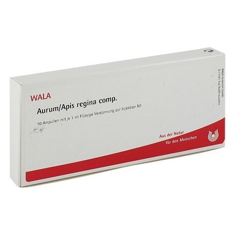 AURUM/APIS regina comp.Ampullen 10x1 Milliliter N1