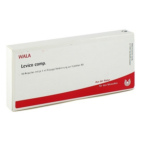 LEVICO COMP. Ampullen 10x1 Milliliter N1