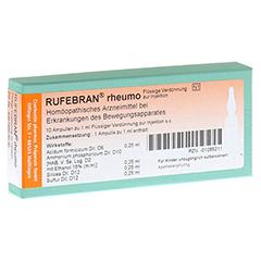 RUFEBRAN rheumo Ampullen 10 Stück N1