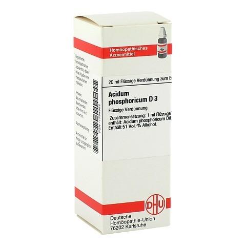 ACIDUM PHOSPHORICUM D 3 Dilution 20 Milliliter N1