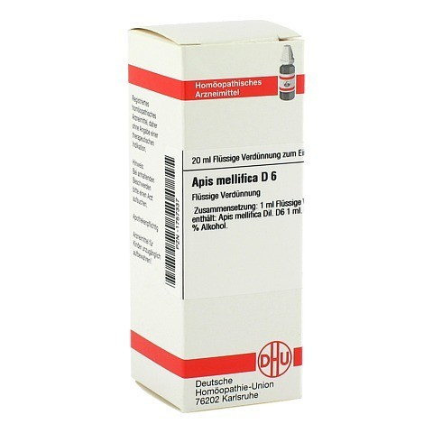APIS MELLIFICA D 6 Dilution 20 Milliliter N1