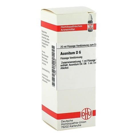 ACONITUM D 6 Dilution 20 Milliliter N1